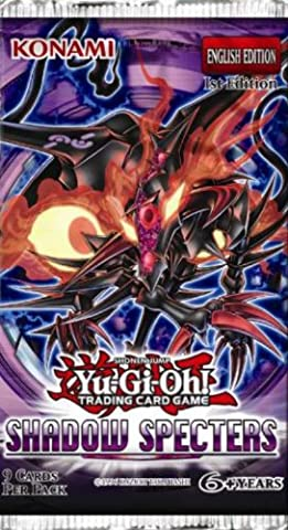 YuGiOh Shadow Specters 1st Edition Booster Box by Yu-Gi-Oh! (America Booster)