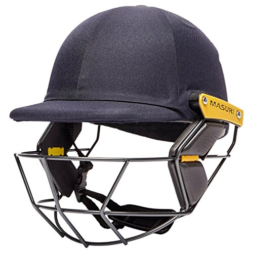 Masuri Kinder Os2 Test Cricket-Helm L Navy