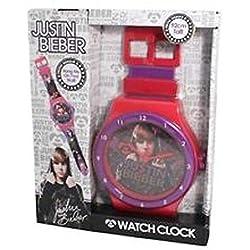 Justin Bieber Watch Clock