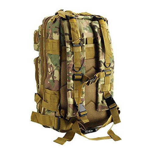 Militär-Rucksack inklusive Trinkblase - Multi Camo