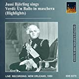 "Jussi Björling Sings Highlights from Verdi's ""Un Ballo in maschera"""