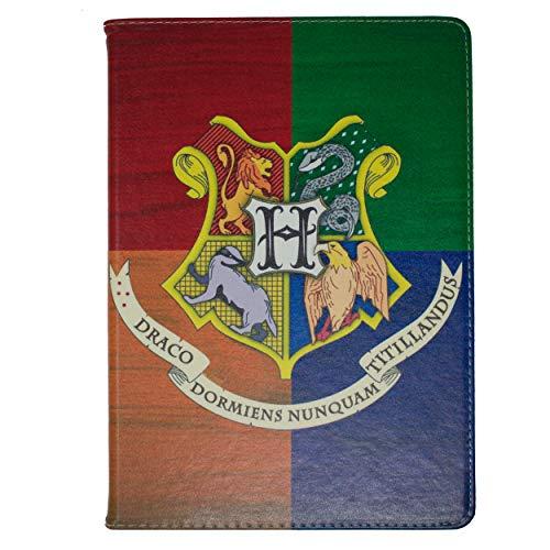 Apple iPad Mini 1,2,3 Folio Harry Potter Häuser Hülle / Schützendes PU Leder Smart Flip Hülle / iCHOOSE / Hogwarts -