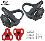 Exustar E-PR16 SPD Road Pedals - Cleats and Hardware One...