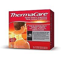 Thermacare Parche Térmico Terapéutico Para El Dolor de Cuello, Hombro y Muñeca, Alivio Prolongado del Dolor Hasta 16 Horas, Sin Medicamentos, 6 Unidades