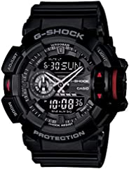 Casio G-Shock Men's Analog-Digital Gray Strap W