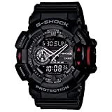 Casio G-Shock Analog-Digital Black Dial Men's Watch - GA-400-1BDR (G566)