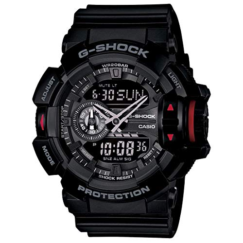 Casio G-Shock Analog-Digital Black Dial Men's Watch - GA-400-1BDR (G566)