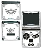 Legend of Zelda Majora's Mask Special Edition White Silver Video Game Vinyl Decal Skin Sticker Cover for Nintendo GBA SP Gameboy Advance System by Vinyl Skin Designs