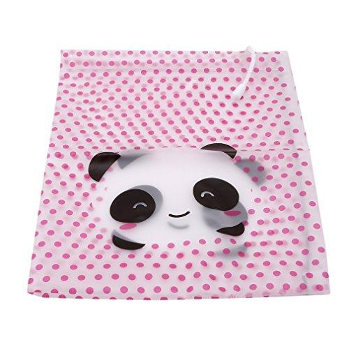 LnLyin Mdchen, die Organisator Speicher Kordelzugbeutel für Reisen, Karikatur Reise wesentliches Gepck Schuh Verpacken Organisator Beutel Kosmetik Koffer Wsche Toilettenpapier Beutel, Panda, l