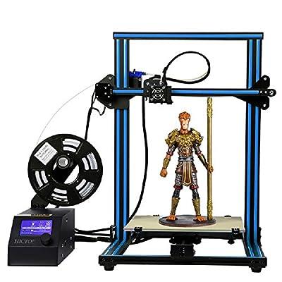 HICTOP 12V Desktop 3D-Drucker Prusa I3 Aluminum DIY-Set Large Print Size CR-10