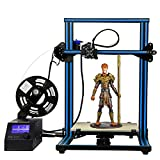 HICTOP 12V Desktop 3D-Drucker Prusa I3 Aluminum DIY-Set Large Print Size CR-10 Blue