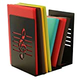Une paire de la mode Creative Note de musique solide en métal support pour livre Serre-livres pour enfants amateurs de musique Décoration de bureau à domicile