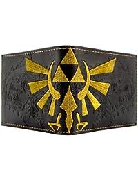 Cartera de Nintendo Zelda Embossed Triforce Negro