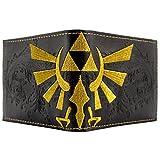 Nintendo Zelda Geprägte Triforce Schwarz Portemonnaie Geldbörse