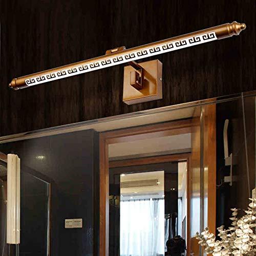 GBX Multiszenenspiegel Scheinwerfer Lampe Badezimmer Beleuchtung Spiegel Led Integriert Traditionell/Klassisch Rustikal/Lodge Vintage Antik Funktion für Led,Warmes Licht,50CM-8W (Traditionelle Badezimmer-spiegel)