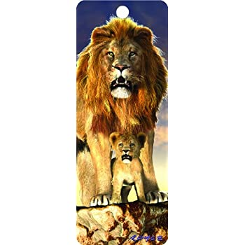 /Lion/ /Cheatwell Games Marque-page 3D/