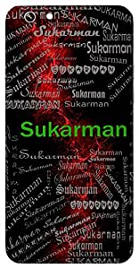 Sukarman (Reciter Of 1000 Samhitas) Name & Sign Printed All over customize & Personalized!! Protective back cover for your Smart Phone : Apple iPhone 7