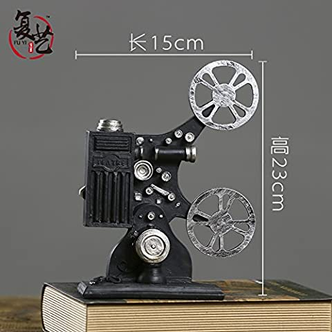 die amerikanische country - filmprojektor projektor dekoration modell requisiten tee - geschäft schaufenster dekorieren,ein