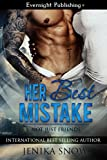 Front cover for the book Her Best Mistake (Not Just Friends, #1) by Jenika Snow