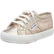 Superga Unisex-Kinder 2750 Cotmetbump Sneaker, Gold (Gold), 25 EU