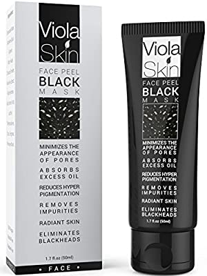 PREMIUM Black Mask - Charcoal Black Face Mask - Blackhead Remover - Eliminates Blackheads and Reduces Acne and Appearances Of Pores - Deep Cleansing Purifying Face Peel - 100% Satisfaction with Charcoal Black Mask or Your Money Back Guarantee On Your Blac