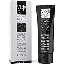 PREMIUM Black Mask - Natural Charcoal Black Face Mask - Blackhead Remover - Clinical Strength - Eliminates Blackheads and Reduces Acne and Appearances Of Pores - Deep Cleansing Purifying Face Peel - 100% Satisfaction with Charcoal Black Mask or Your Money Back Guarantee On Your Black Face Mask - Keep Your Face Feeling After Every Use Of Our Blackhead Remover Mask