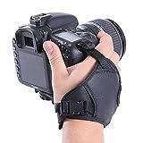 Shoot® dualstrap Gepolsterte Handgelenk Gurt & Grip für DSLR-Kameras Handschlauf