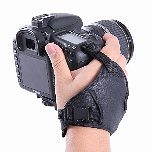 Shoot® dualstrap Gepolsterte Handgelenk Gurt & Grip für DSLR-Kameras Handschlaufe