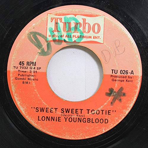 Lonnie Youngblood 45 RPM Sweet Sweet Tootie / In My Lonely Room