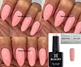 BLUESKY DC96 Baby Pink Nagellack-Gel UV-LED-Soak Off 10 ml plus 2 LuvliNail Shine Tücher