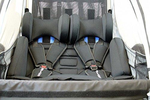 Sitzpolster Babysitz für Qeridoo Fahrradanhänger Sportrex2, Speedkid2, KidGoo2 - 3