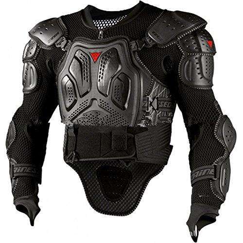 Motorradjacke mit Absturzsicherung Dirt Bike Körper Brust Spine Protector Rüstung Weste Schutzausrüstung für Dirtbike Bike Motorrad Motocross Ski Snowboard Motocross Body Guard Weste ( Größe : L ) -