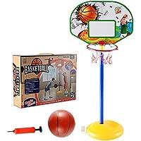 Cesta de baloncesto para niños, ct de Tribe 144cm Mini Soporte Juego de baloncesto de baloncesto cesta de baloncesto para niños