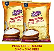 Purna Pure Maida - 5kg (Pack of 2)