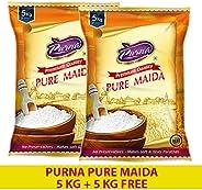 Purna Pure Maida, 5kg(Pack of 2)