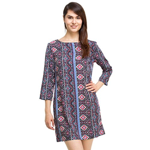Oxolloxo Women's Printed Tunic  available at amazon for Rs.328