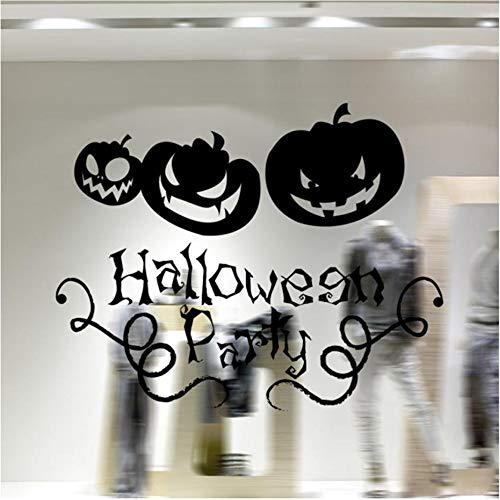 Shuyinju 58 * 46Cm Halloween Hintergrund Dekoriert Wohnzimmer SchlafzimmerAufkleber