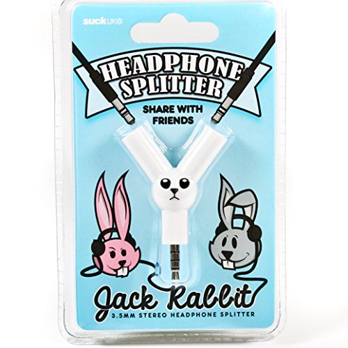"Billig Kopfhörer Beats Wireless (SUCK UK Kopfhörer-Splitter ""Jack Rabbit"")"