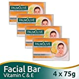 #7: Palmolive Skin Therapy Soap Bar with Vitamin C and E - 75 g (Pack of 4)