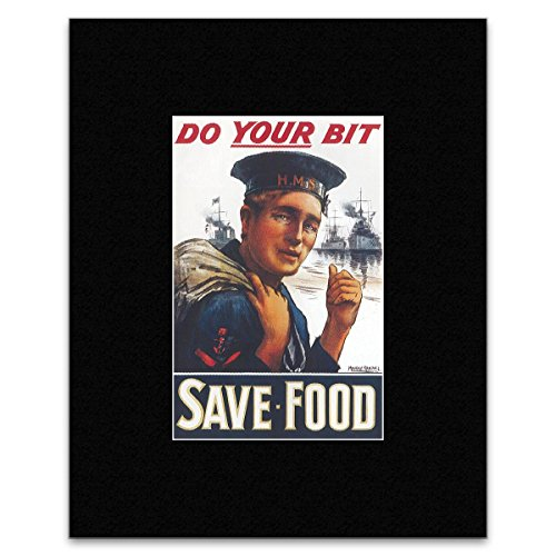 do-your-bit-save-food-matted-mini-poster-135x125cm