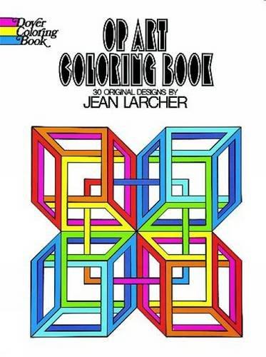 Op Art Coloring Book par Jean Larcher