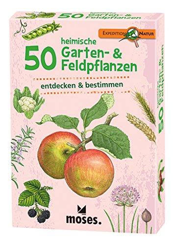 moses. Expedition Natur - 50 heimische Garten- und Feldpflanzen | Bestimmungskarten im Set Preisvergleich