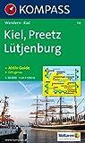 Kiel, Preetz, Lütjenburg: Wander- und Bikekarte -