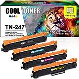 Cool Toner Compatible TN247 TN-247 TN243 TN-243 Cartouches de Toner pour Brother DCP-L3550CDW MFC-L3750CDW MFC-L3770CDW HL-L3210CW HL-L3270CDW HL-L3230CDW MFC-L3710CW MFC-L3730CDN DCP-L3510CDW