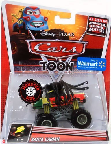 Disney Cars Rasta Carian Cars Toon - Monster Truck Mater (Disney Cars Monster Truck)