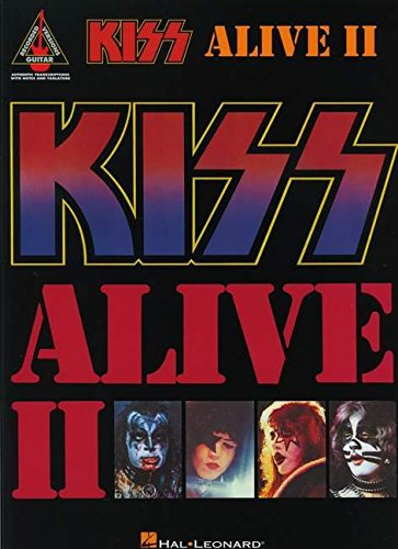 Kiss: Alive II: Noten für Gitarre (Guitar Recorded Versions) (Kiss-gitarre)