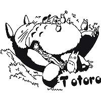 TOTORO Sticker Mural autocollants Chambre Dortoir Amovible 58x46cm b8bba443303