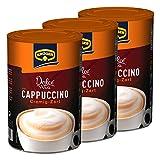 Krüger Dolce Vita Cappuccino, Cremig-Zart, Milchkaffee, Milch Kaffee aus löslichem Bohnenkaffee, 600 g