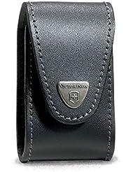 Victorinox Swiss Champ XLT black leather pouch