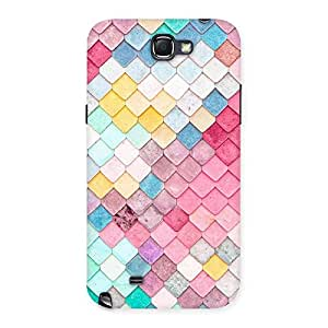 Rock Pattern Multicolor Back Case Cover for Galaxy Note 2